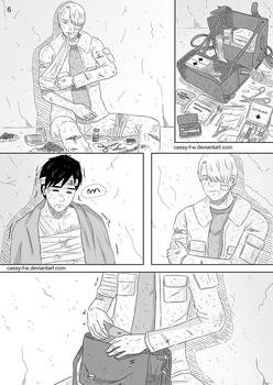 Yuri on Ice Doujinshi - A Dying Memory Page 6 by Cassy-F-E