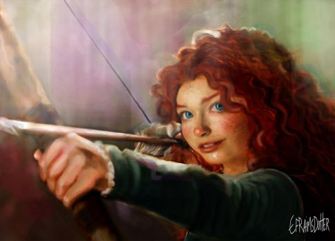 Merida by Efraimsdotter