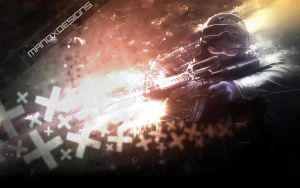 CSS Soldier Wallpaper by manoxdesigns