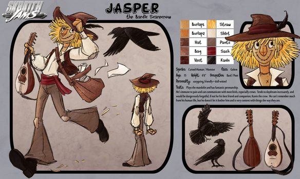 OC Pool 4: Jasper by Kiiro-chan