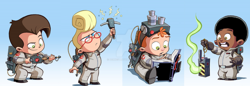 Citizen Ghost Baby Busters by BERNEST