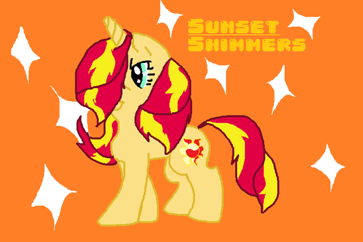 Sunset Shimmers by pizza-palace