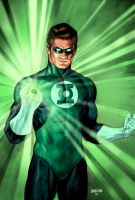 Green Lantern by Habjan81