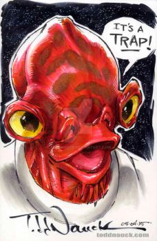 Admiral Ackbar by ToddNauck