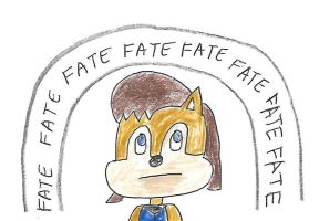 Fate surrounds Sally Acorn by dth1971