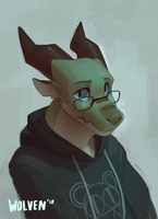Glass Eyes by ItsWolven