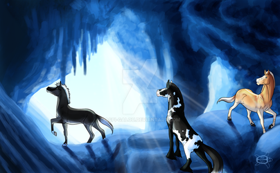 Harmony prompt - Cave by Aspi-Galou