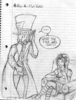 Alice and the Mad Hatter wtf by lizabeth