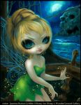 Tinker Bell at Skull Rock by jasminetoad