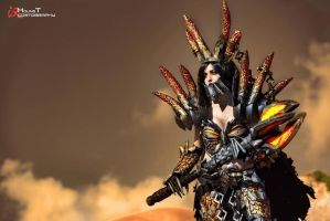 Deathwing the Destroyer Cosplay - WOW by BabyGirlFallenAngel