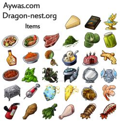 Aywas/DN - Items by Bearpuncher