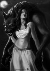 Werewolf and the Lady by yuhime