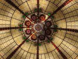 Ceiling at Paris, Vegas by SinboundPhotography