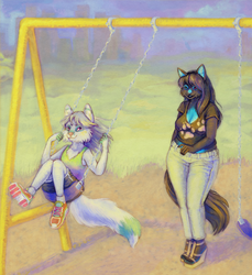 Afternoon at the Park c: by fralea