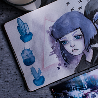 Ghost in the Shell by as-obu