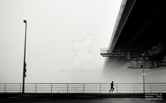 Lonely runner by torobala