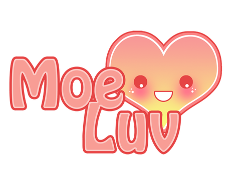 Moe Luv Logo New by Kawaii-Dream