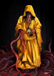The Yellow King by tohdraws