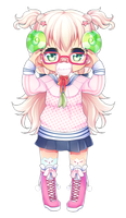 [COMISSION] My Glasses [1/2] by nechin