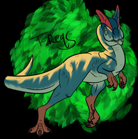 Primal Carnage Dilophosaurus by T-Reqs