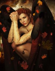 Autumn Angel by Ikke46