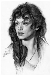 Evelyn O'Connell by FinAngel
