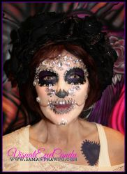Diamond Sugar Skull By SamanthaWpgcom by VisualEyeCandy