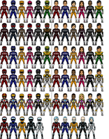 Mighty Morphin Power Rangers Reboot (updated) by Joker960317