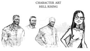 Hell Rising 03 by Crimzonstudio