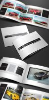 Minimal Portfolio Brochure, Creative Booklet by env1ro
