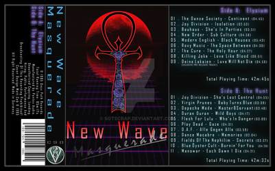 New Wave Masquerade | Cassette Cover by SgtScrap