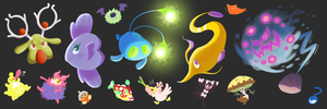 Lots of Shiny Pokemon!