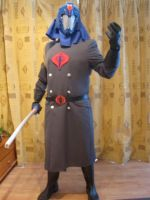 Cobra Commander Costume Visor by PatrickGavin