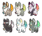 CLOSED 170pt Monster Puppy Designs by ThisAccountIsDead462