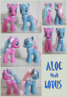 For Sale: Aloe and Lotus by phasingirl
