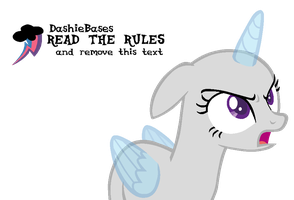MLP Base: have this angry horse by KIngBases