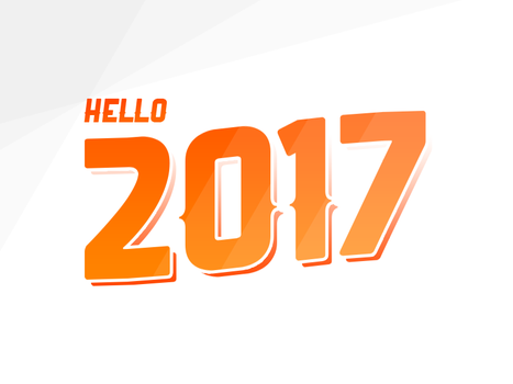 Hello 2017 by AndrewDavidJ