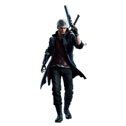 Devil May Cry 5 Nero Render PNG by GamingDeadTv
