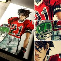 Sena Kobayakawa - EYESHIELD 21 by Dunklayth