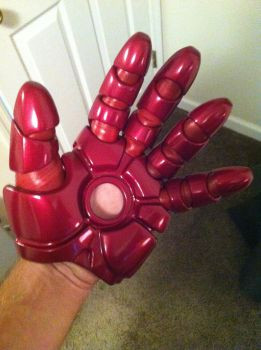 MkVII iron man hand progress by Full-Dive