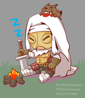 Sleeping Leper by a29514486