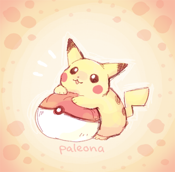 squishy pokeball by Paleona