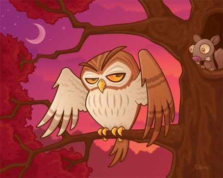 Mister Owley by fizzgig