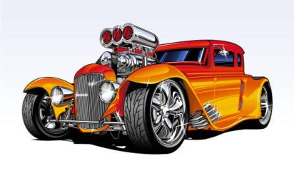 cool lookin hot rod by Bmart333