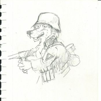 Wehrmacht Wulf  in the Battle of Stalingrad by CosmoCoyote