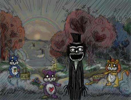 Babadook is home by H-M-M