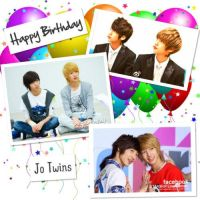Happy Birthday Jo Twins 01 by Hentaro