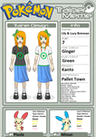 Trainer Profile: Lily and Lucy Brennan (My OC) by WillDynamo55