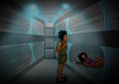 Sleep pods by pelle131313