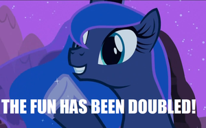 The fun has been doubled HQ by Shadewingz